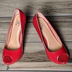 NWT Red Pumps Heels size 6